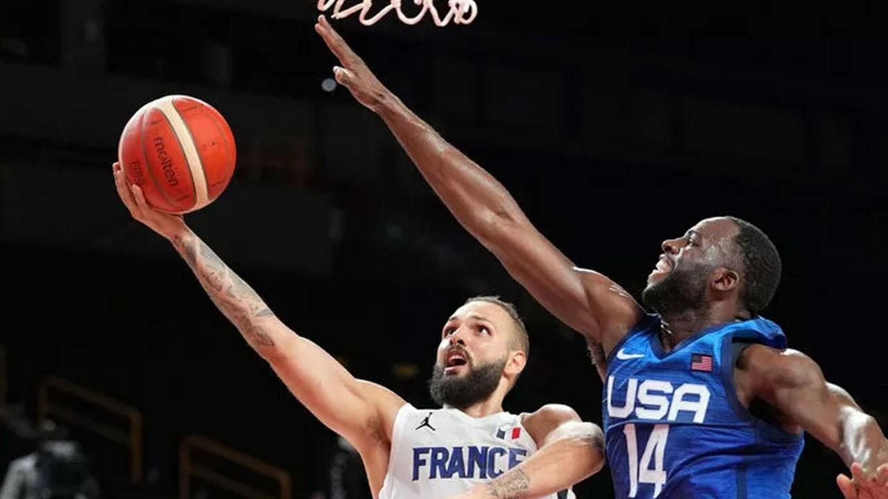 Fransa son olimpiyat şampiyonu ABD'yi mağlup etti