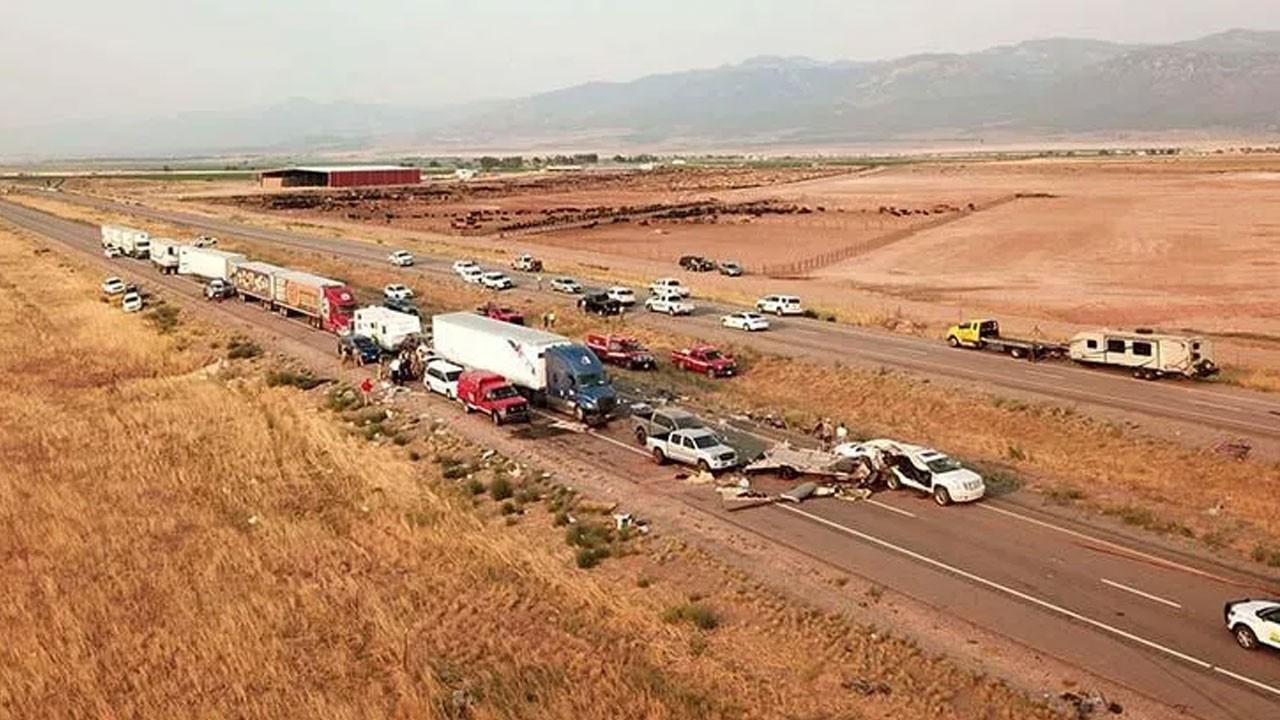 ABD'de zincirleme kaza! 7 kişi hayatını kaybetti