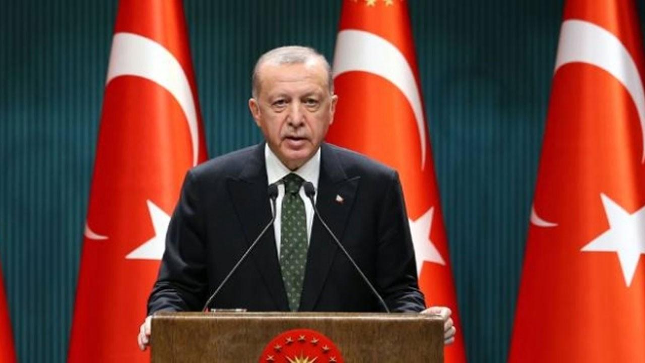 Erdoğan'dan sel bölgesiyle ilgili açıklama