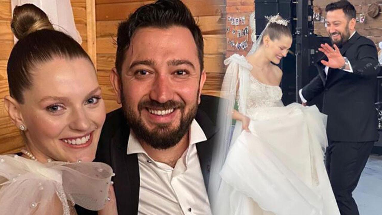 Kardeşlerim dizisinin 'Harika'sı evlendi!