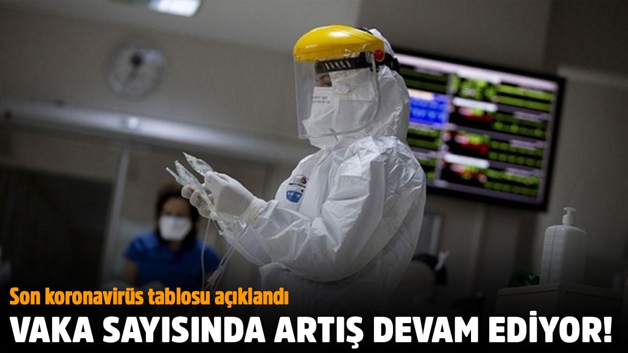 Türkiye'de son koronavirüs tablosu açıklandı