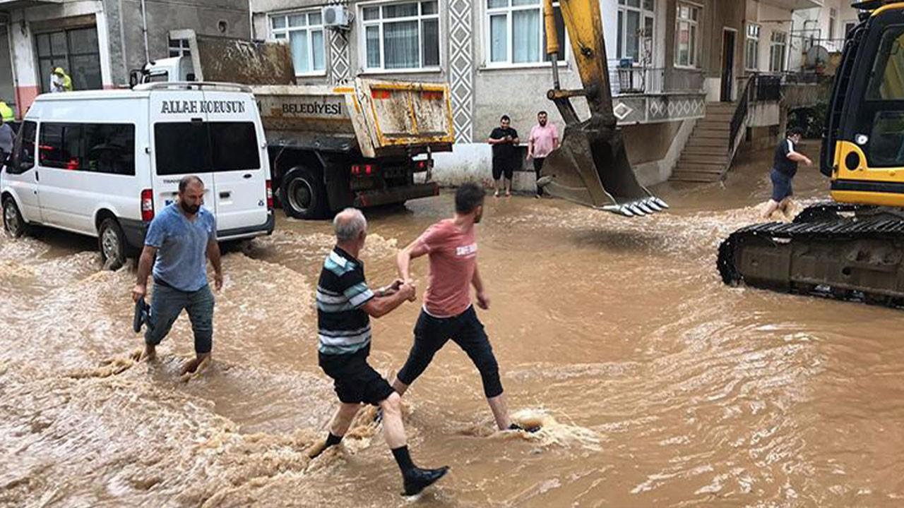 Meteoroloji, Doğu Karadeniz için uyarmıştı...