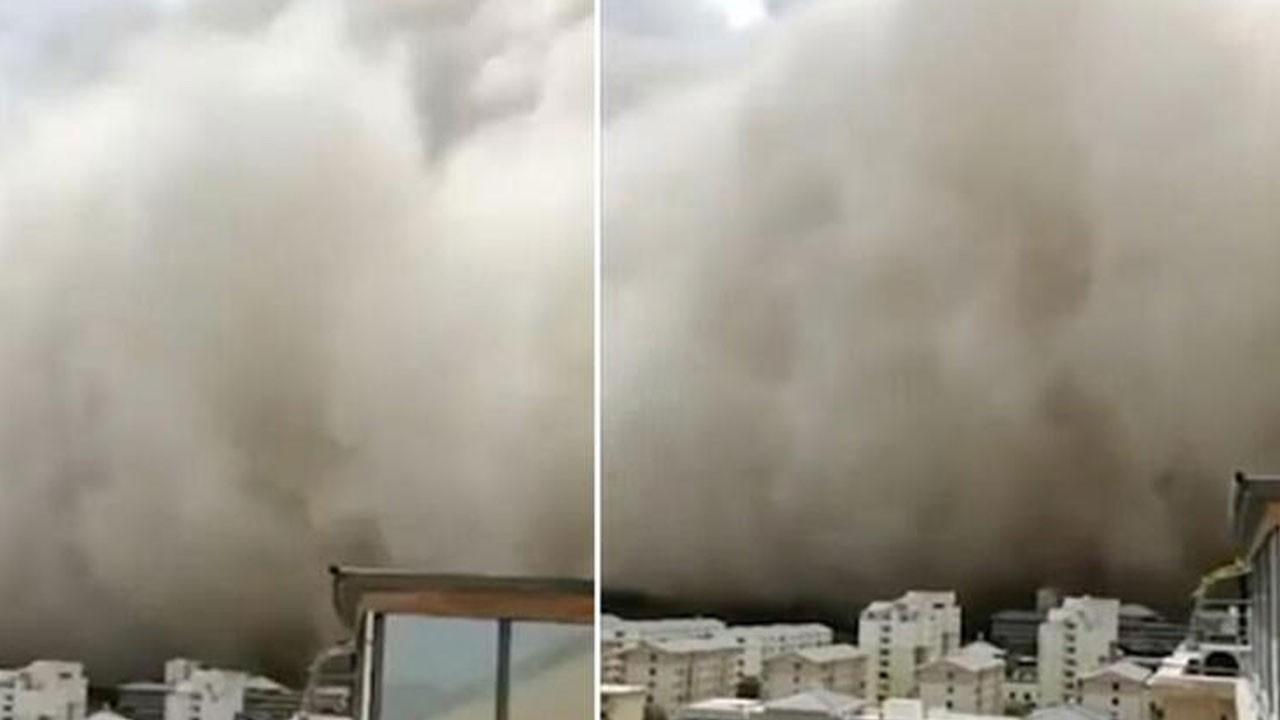 Kum fırtınası dünya gündemine oturdu!