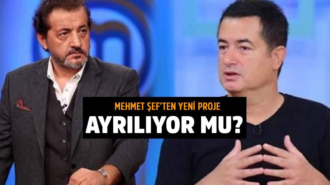 Mehmet Şef yeni projesini açıkladı! MasterChef'ten ayrılıyor mu?