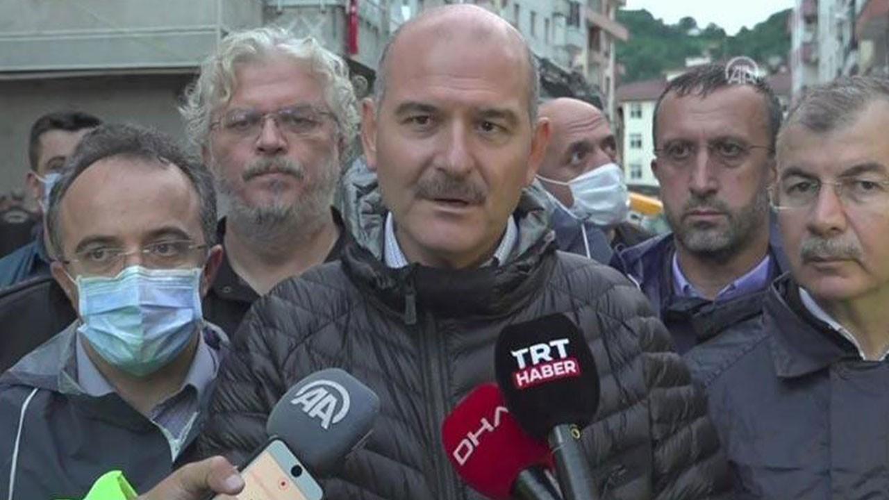 Bakan Soylu Artvin'deki son durumu açıkladı