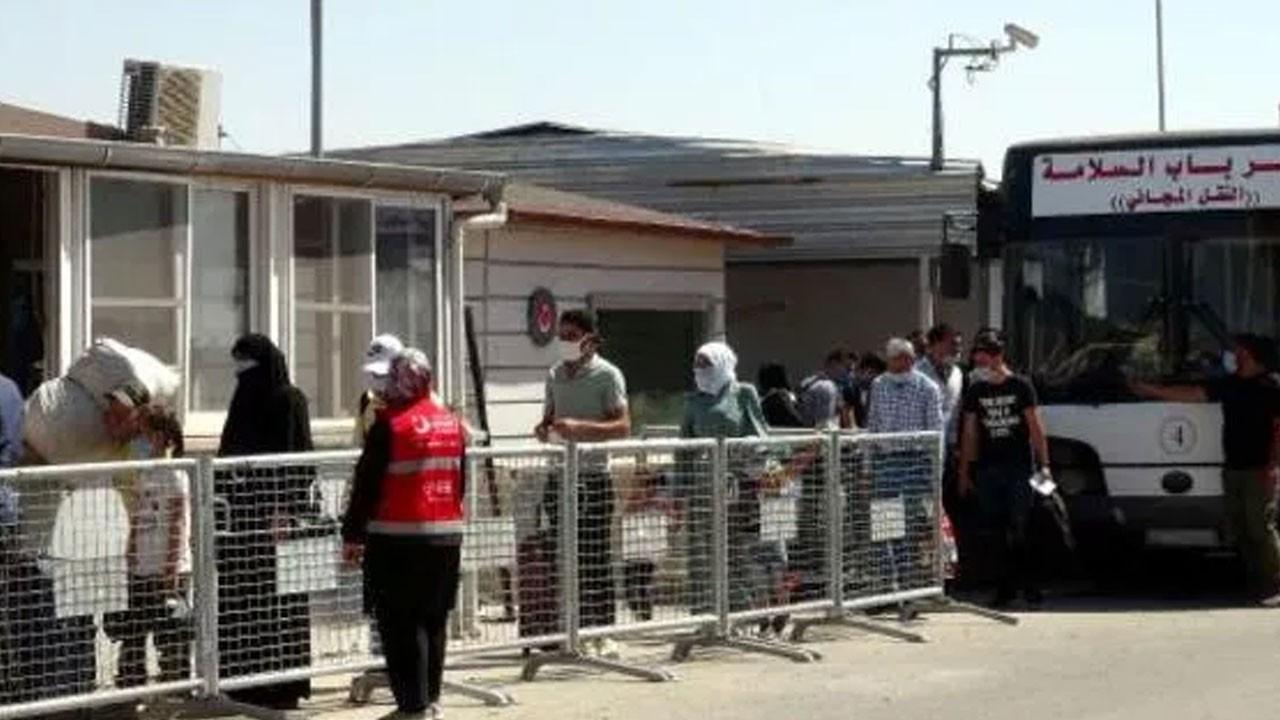 Suriyeliler Türkiye'ye geri dönüyor