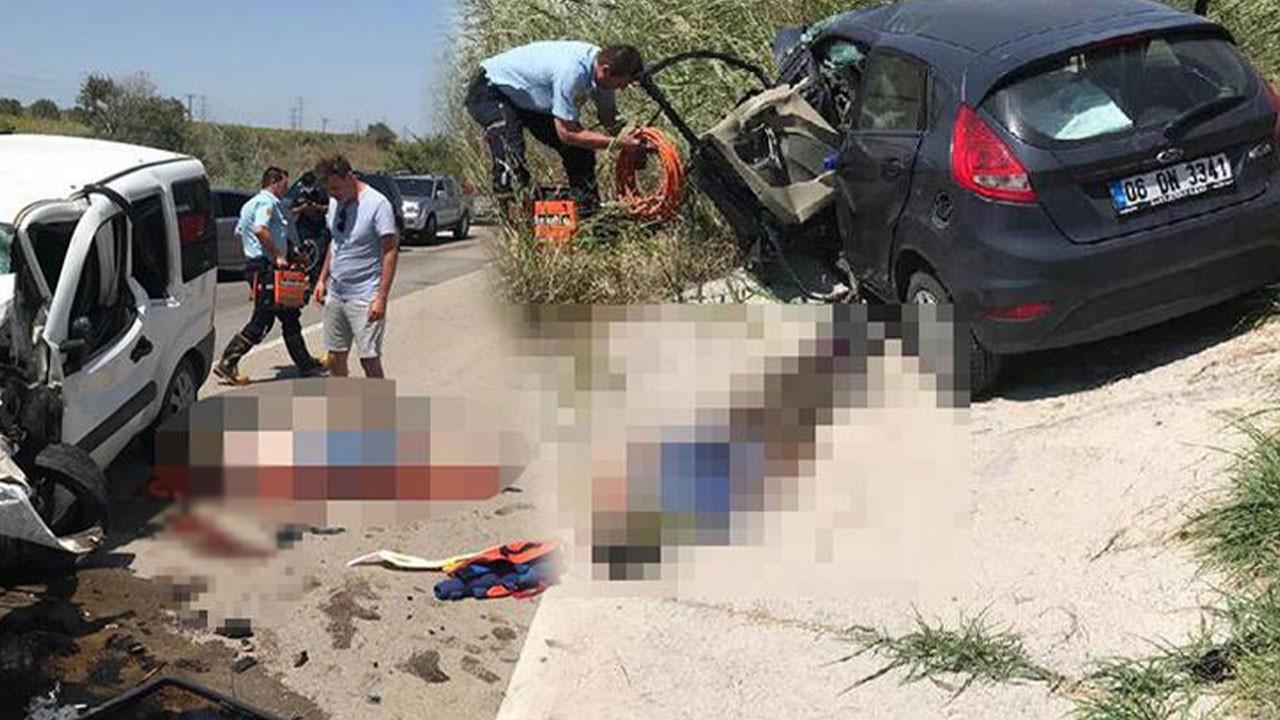Gelibolu'da korkunç kaza!