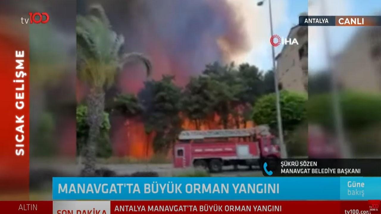 Sözen: Manavgat tarihinin en büyük yangını