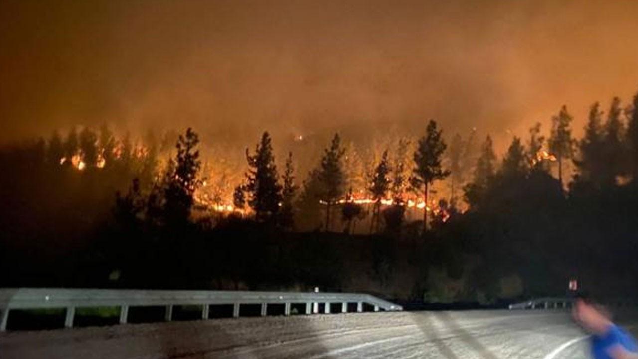 Adana'da yangın büyüyor! 5 köy tahliye edildi