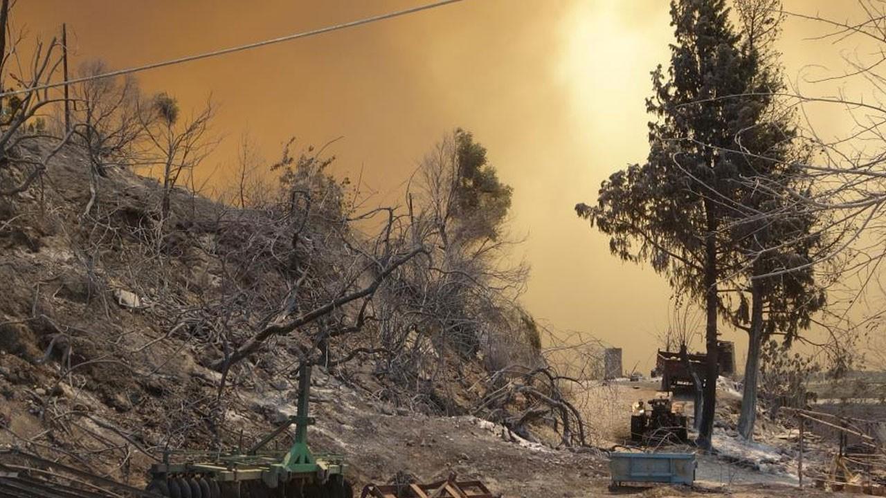 Alevleri itfaiye ekipleri ve mahalleli söndürdü