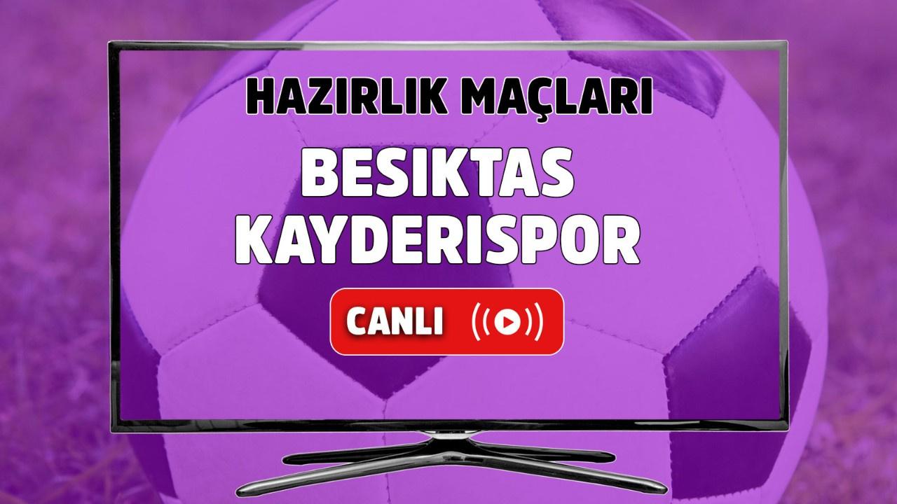 Beşiktaş – Kayserispor Canlı