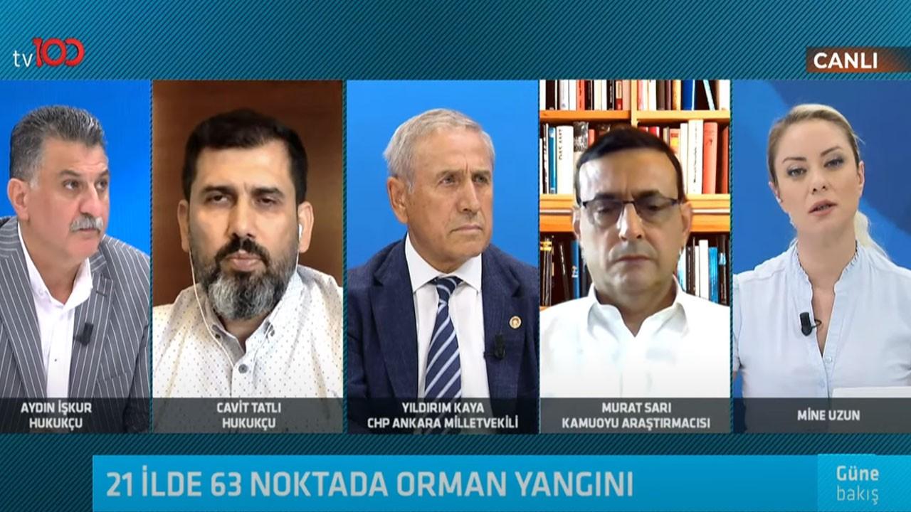 tv100'de Türkiye'nin yanan ciğerleri için ağaç kampanyası!