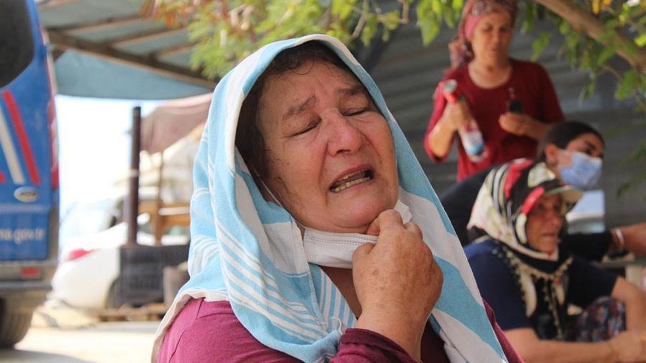 Feryadları yürekleri dağladı 'Kuzularım yangında kaldı' diyerek ağladı!