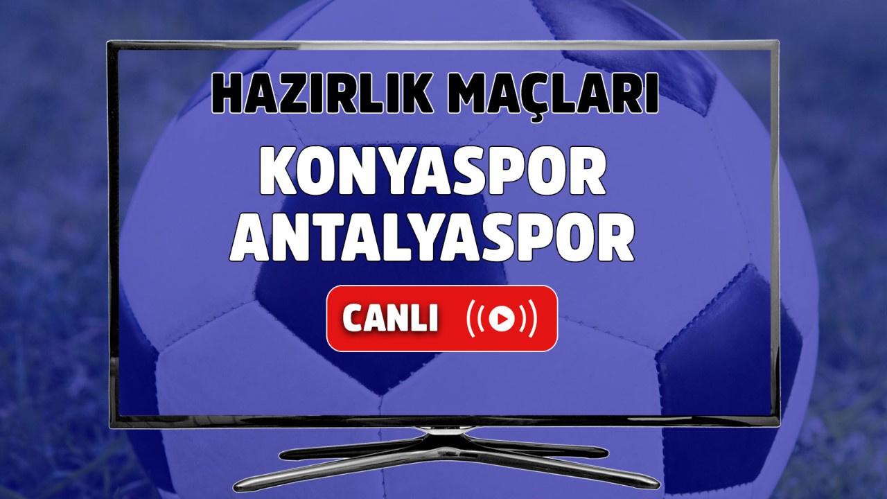 Konyaspor – Antalyaspor Canlı maç izle