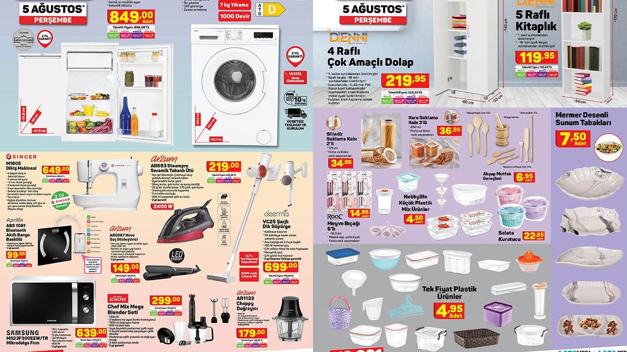 A101 5 Ağustos 2021 Aktüel ürünler kataloğu! A101'de bu hafta neler var? A101 indirimli ürünler listesi