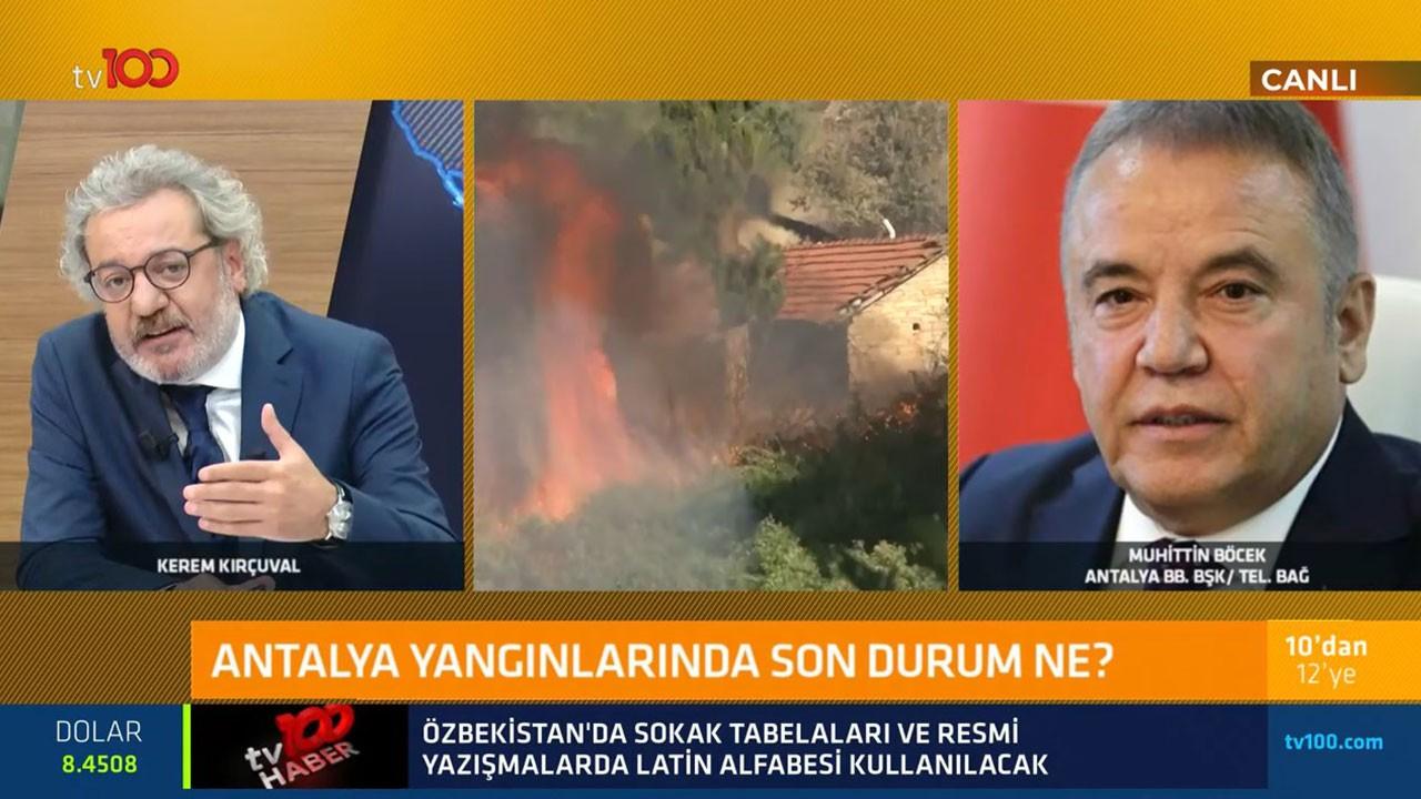 Antalya Büyükşehir Belediye Başkanı Muhittin Böcek son durumu aktardı: Görseniz ağlarsınız