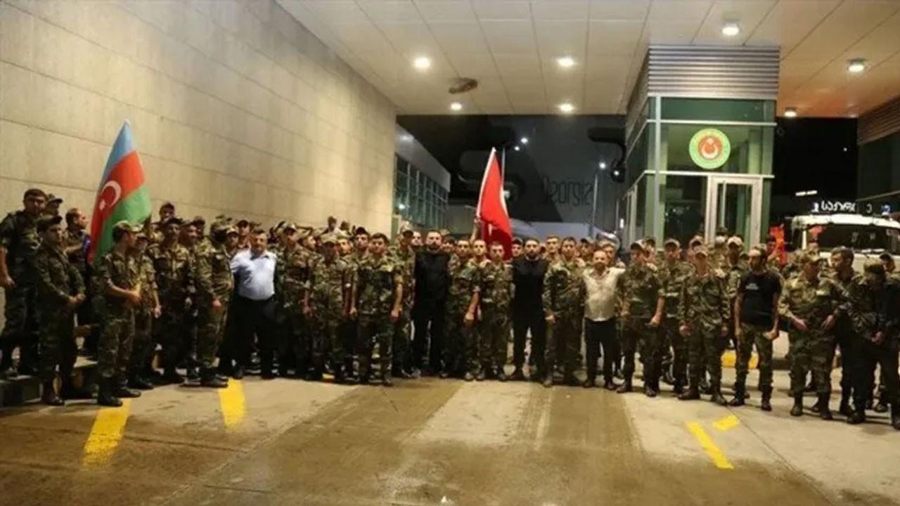Azerbaycan'dan orman yangınları için 53 araç ve 220 personel ile destek