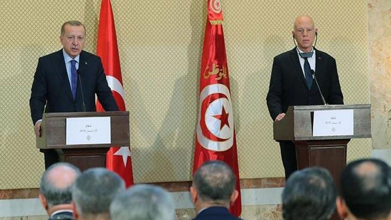 Erdoğan, Tunus Cumhurbaşkanı ile görüştü