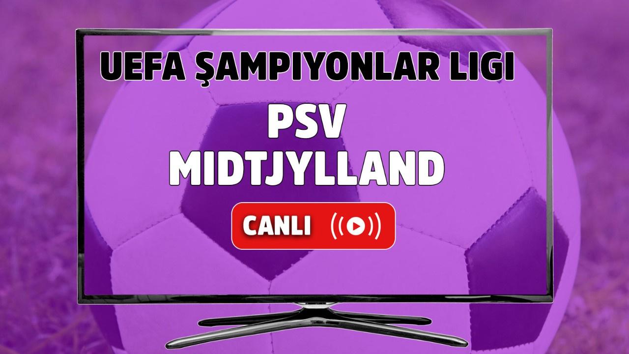 PSV – Midtjylland Canlı Maç İzle