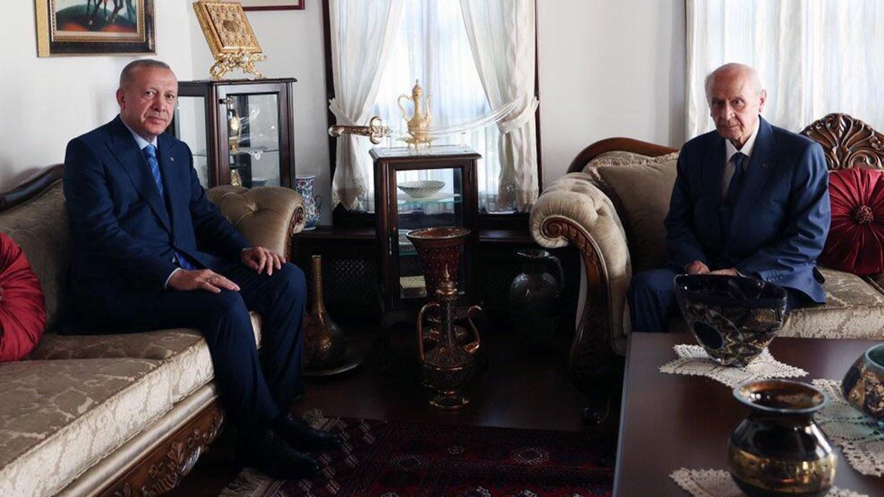 Erdoğan'dan Bahçeli'ye sürpriz ziyaret