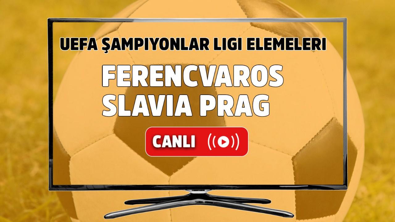 Ferencvaros - Slavia Prag Canlı maç izle