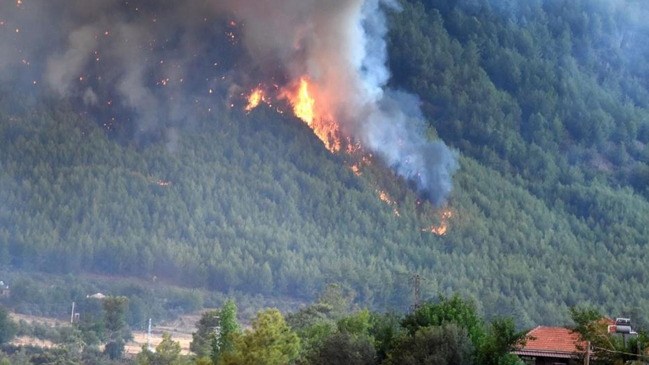 Köyceğiz'de 5 köy tahliye edildi