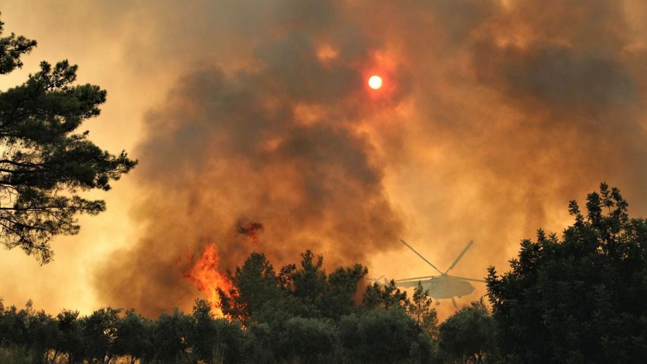Yangınlarla mücadele sürüyor! İşte dakika dakika son durum