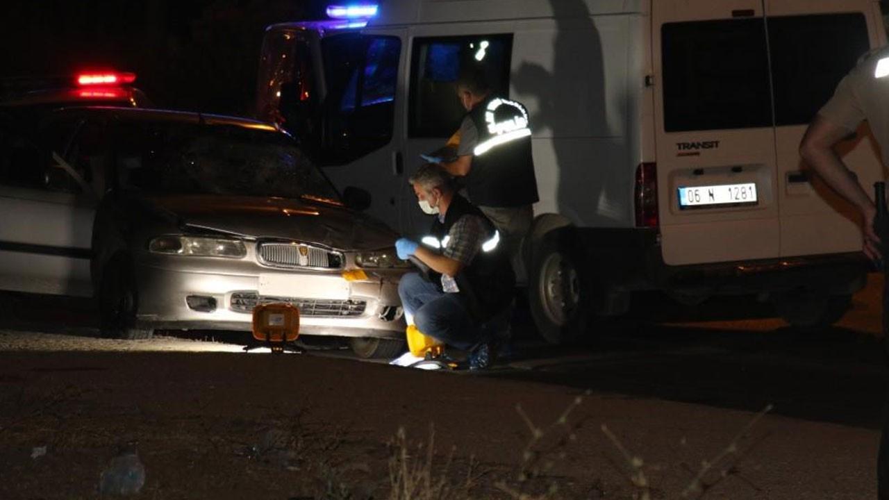 Ankara'da feci kaza: Kaldırıma yürürken can verdi