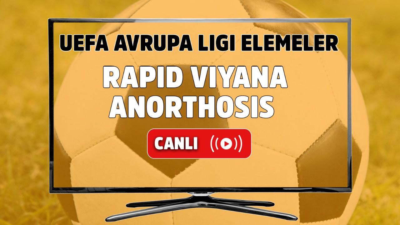 Rapid Viyana – Anorthosis Canlı