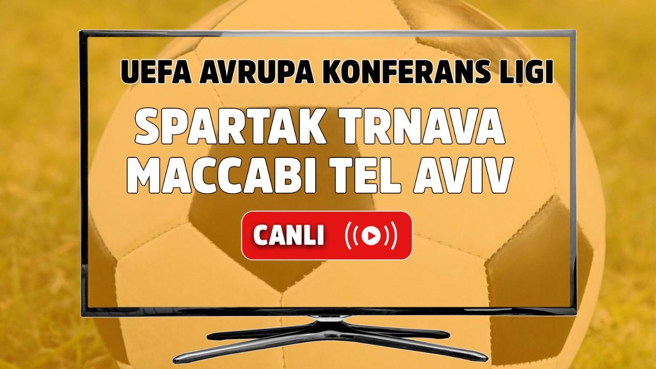 Spartak Trnava – Maccabi Tel Aviv Canlı