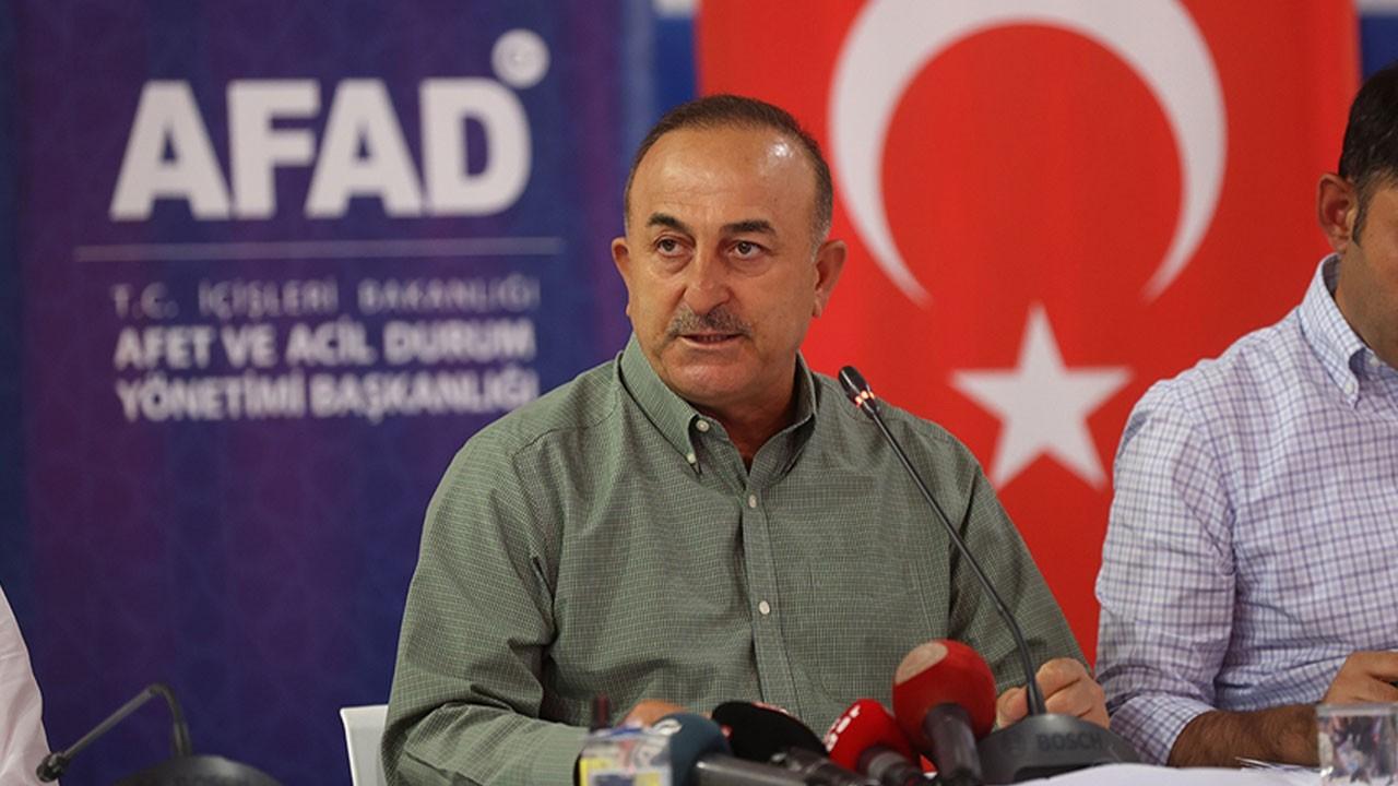 Bakan Çavuşoğlu: Antalya'daki yangınlar...