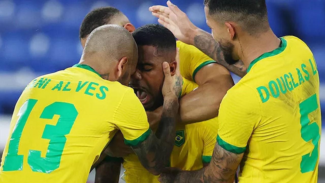 Olimpiyat Şampiyonu Brezilya
