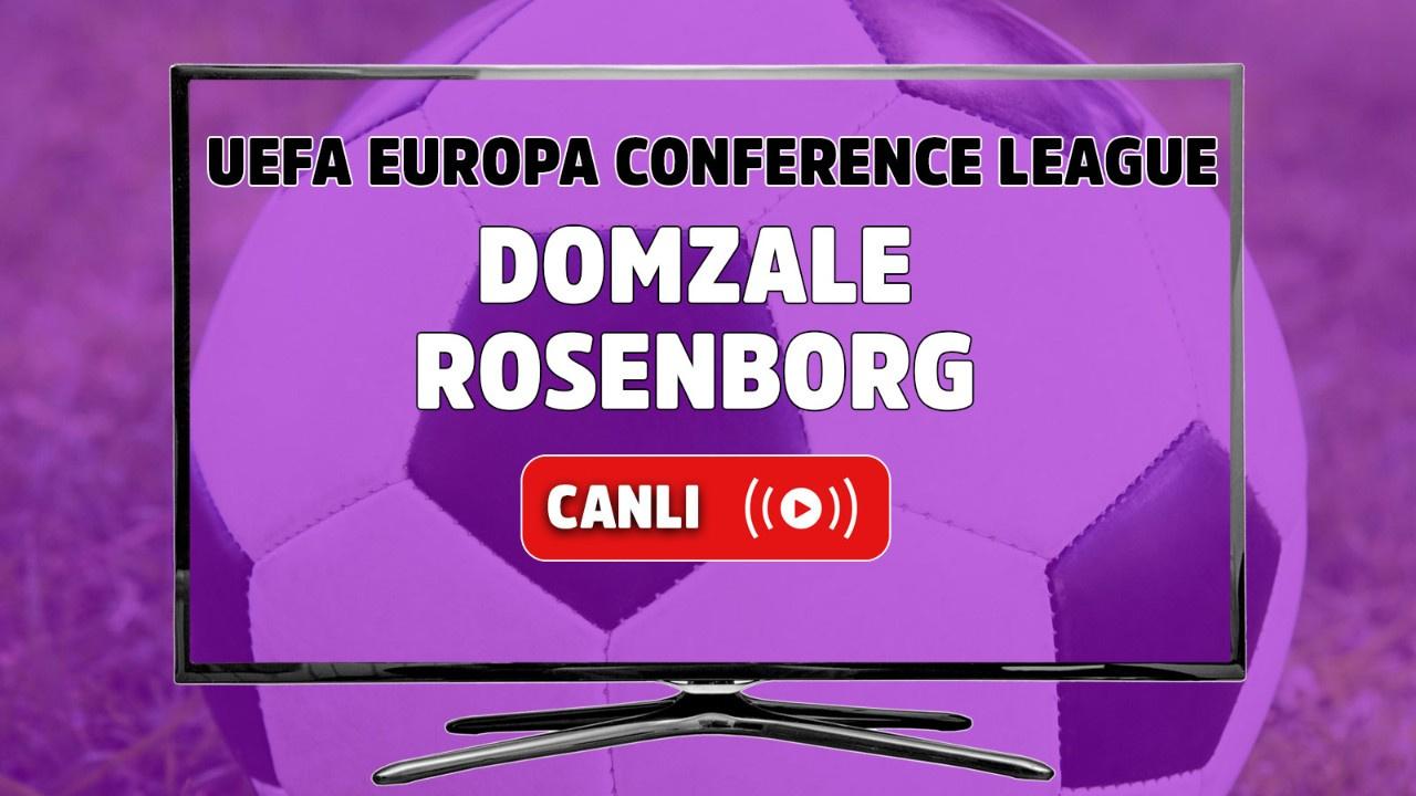 Domzale - Rosenborg Canlı
