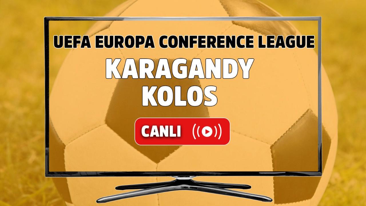 Karagandy - Kolos Canlı