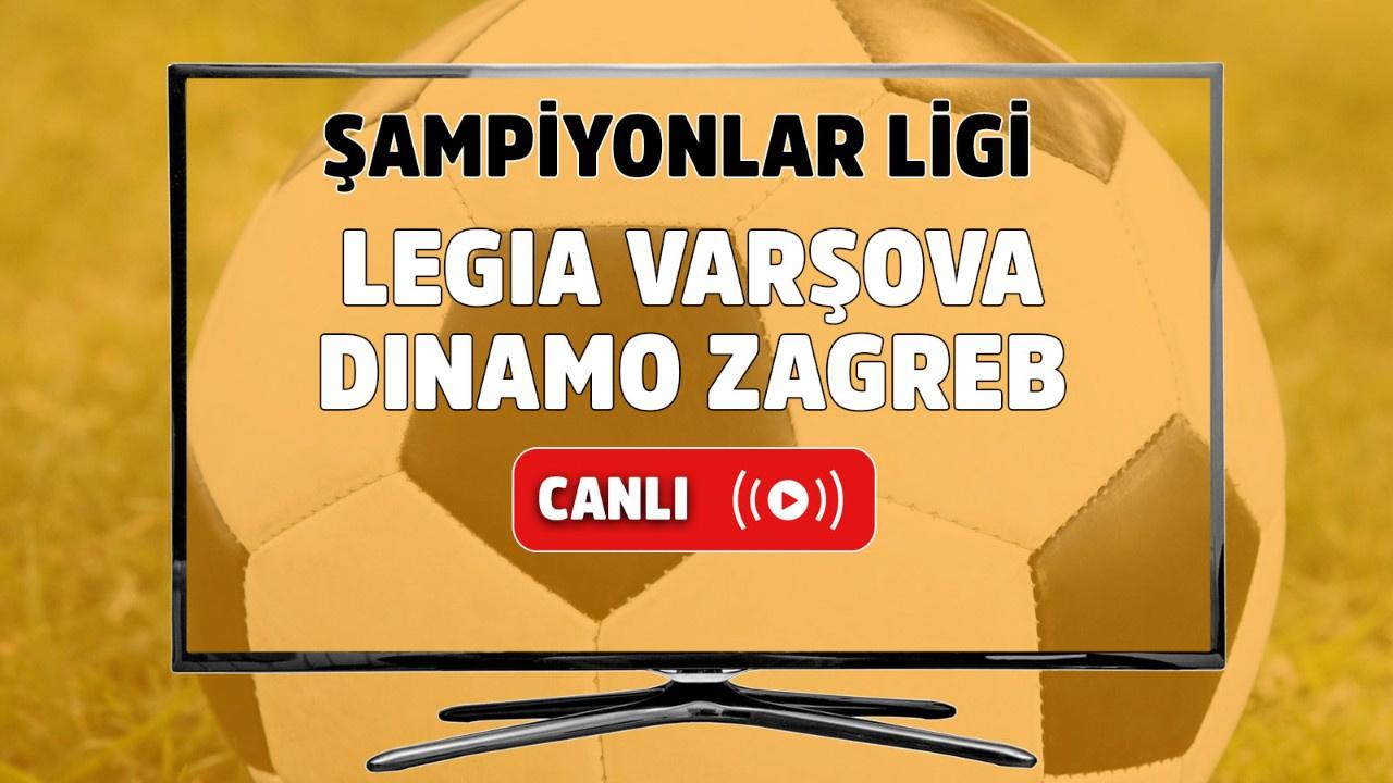 Legia Varşova - Dinamo Zagreb Canlı