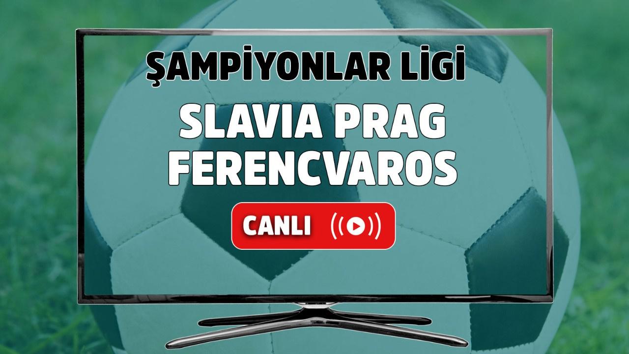 Slavia Prag - Ferencvaros Canlı