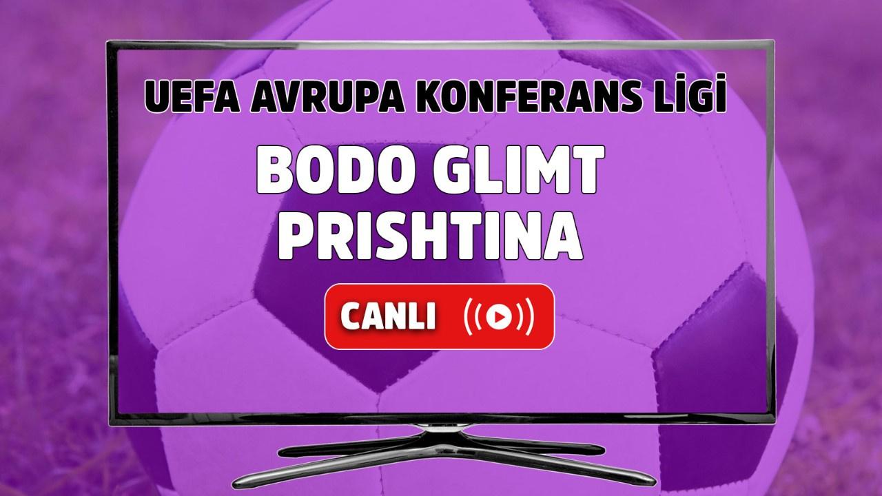 Bodo Glimt – Prishtina Canlı