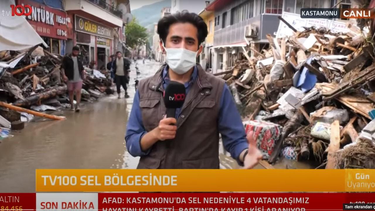 TV100 ekibi selin vurduğu Kastamonu'da