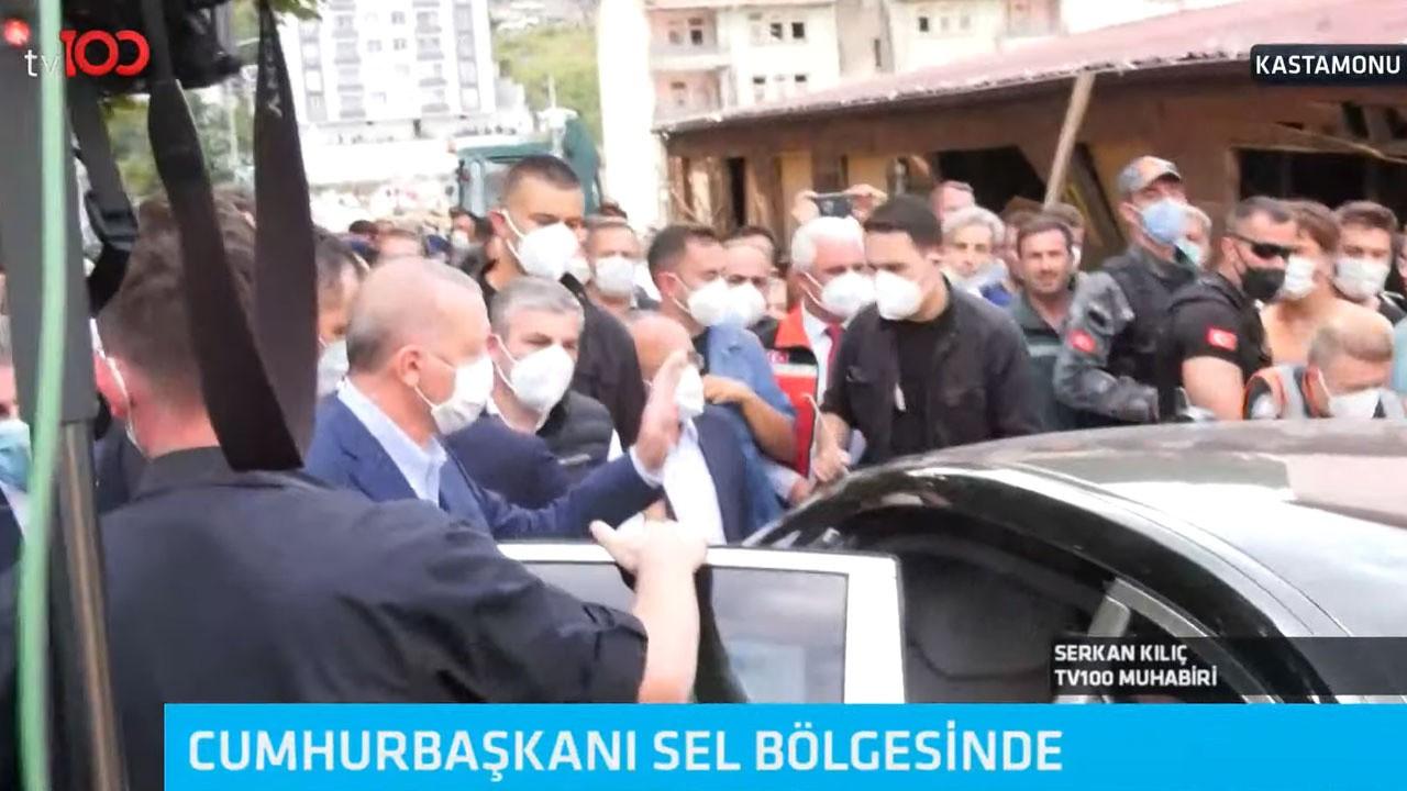 Cumhurbaşkanı Erdoğan Bozkurt'ta!