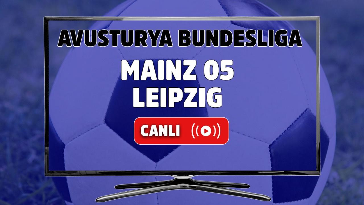 Mainz 05 – Leipzig Canlı