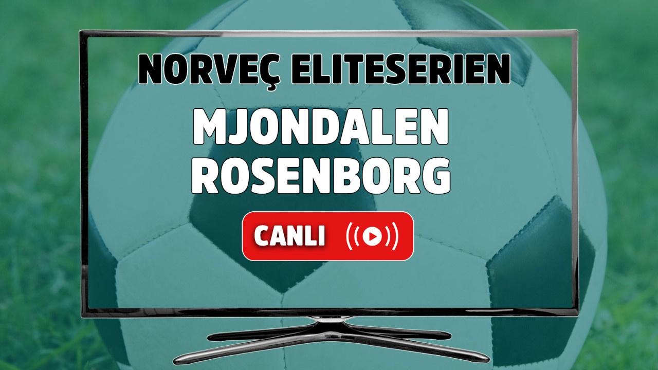 Mjondalen - Rosenborg Canlı