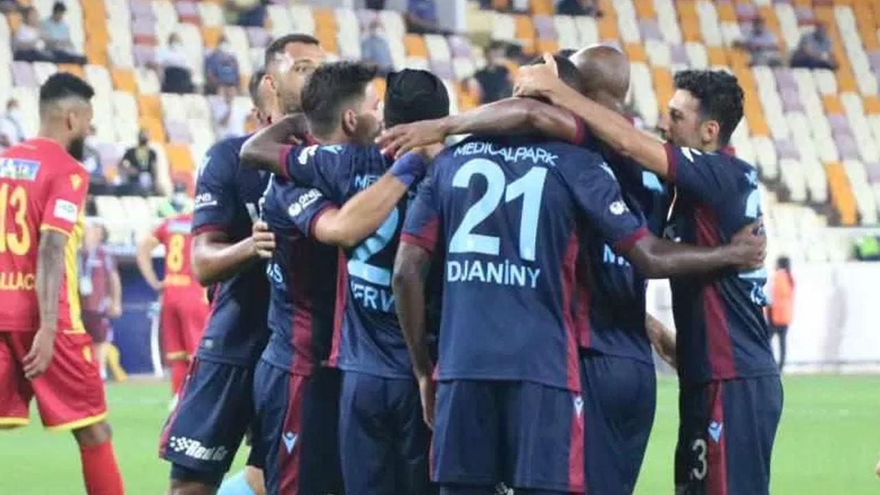 Trabzonspor farklı kazandı