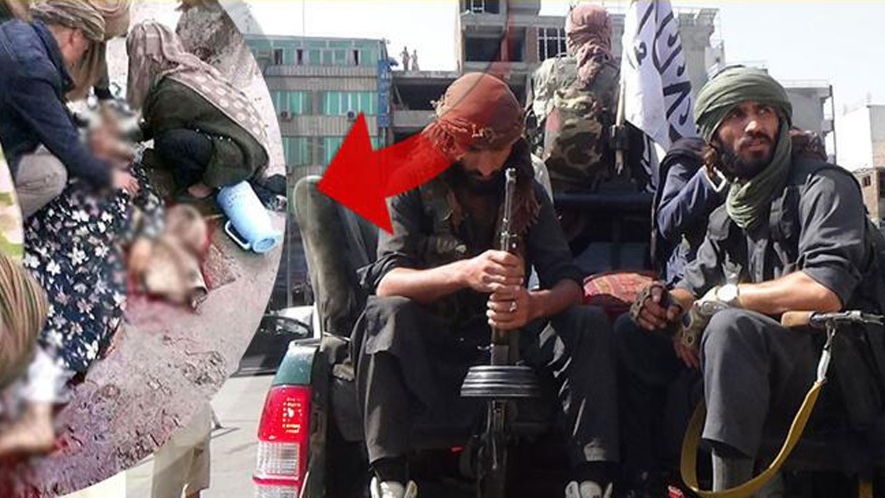Taliban'dan burka giymeyen Afgan kadına infaz!