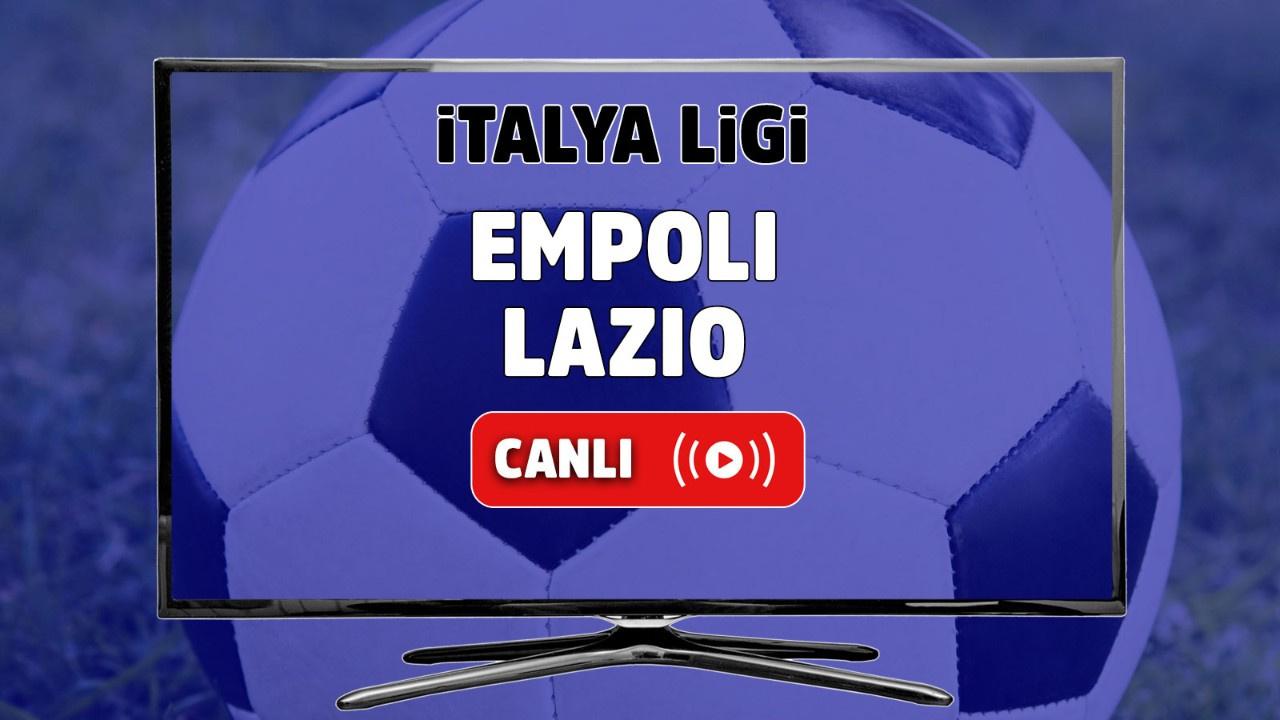 Empoli - Lazio Canlı