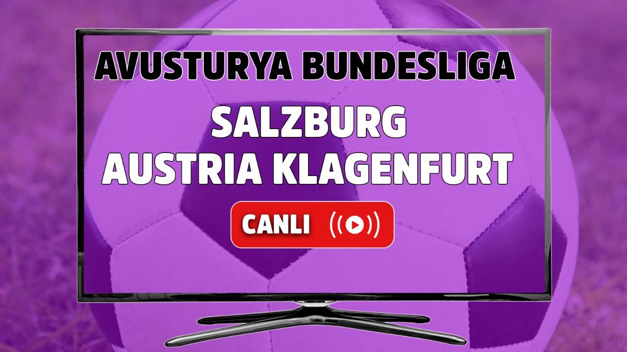 Salzburg - Austria Klagenfurt Canlı