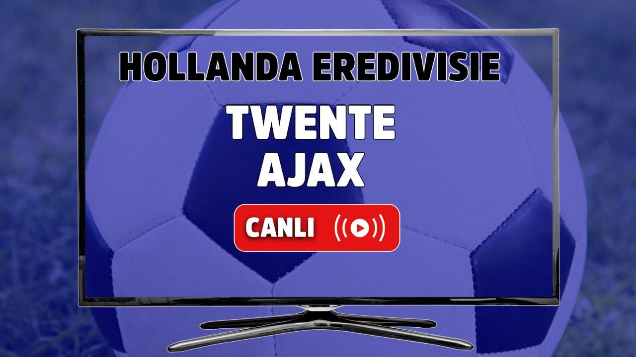 Twente - Ajax Canlı