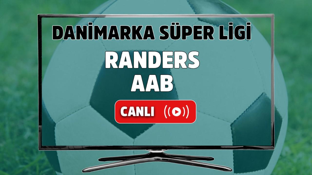 Randers - AaB Canlı