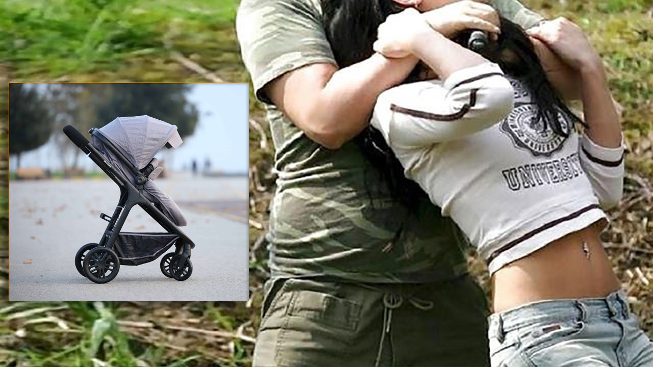 Tecavüz edebilmek için bebek arabasını kullandı