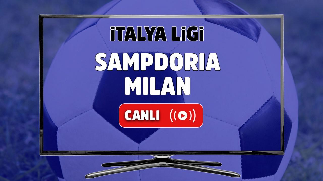 Sampdoria Milan Canlı maç izle