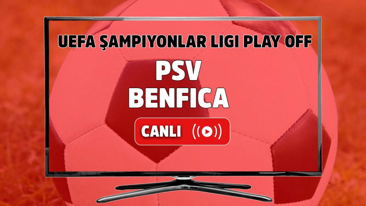 PSV - Benfica Canlı